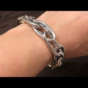 henri bendel Jewelry - Henri Bendel link bracelet - silver